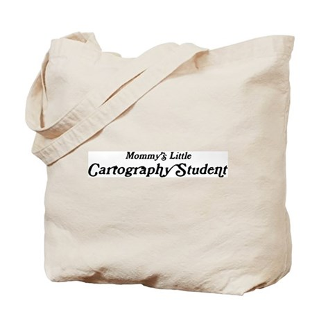 Mommys Little Cartography Stu Tote Bag