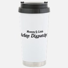Mommys Little Airline Dispatc Travel Mug