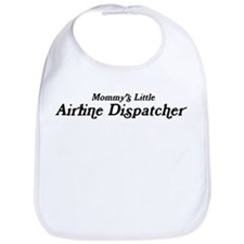 Mommys Little Airline Dispatc Bib