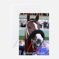 Takeover Target Greeting Card