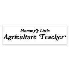 Mommys Little Agriculture Tea Bumper Bumper Sticker