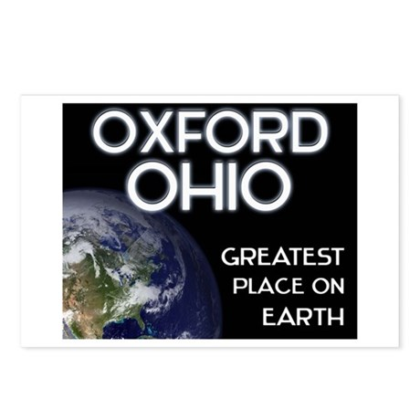 oxford ohio - greatest place on earth Postcards (P