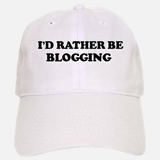 Rather be Blogging Baseball Baseball Cap