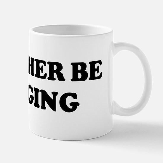 Rather be Blogging Mug
