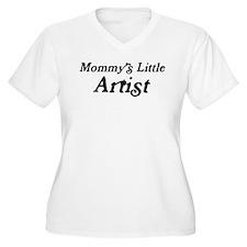 Mommys Little Artist T-Shirt