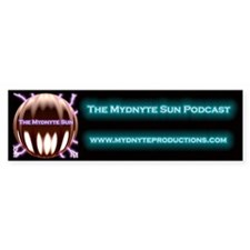Mydnyte Sun Podcast Bumper Bumper Sticker