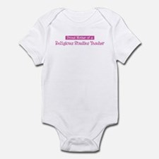 Proud Mother of Religious Stu Infant Bodysuit
