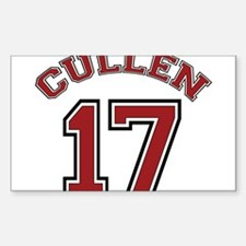 Cullen #17 Rectangle Decal