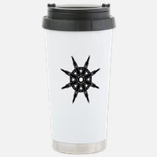 The Dharma Wheel Stainless Steel Travel Mug