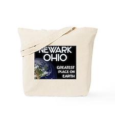 newark ohio - greatest place on earth Tote Bag