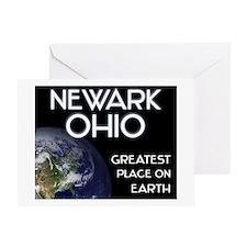newark ohio - greatest place on earth Greeting Car