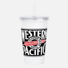 Feather River Route tr Acrylic Double-wall Tumbler