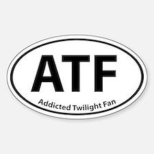 Addicted Twilight Fan Bumper Stickerss Oval Bumper Stickers