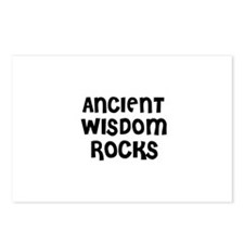 ANCIENT WISDOM ROCKS Postcards (Package of 8)