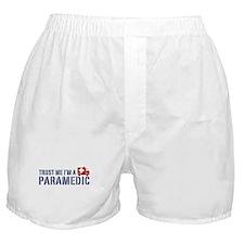 Trust Me I'm a Paramedic Boxer Shorts