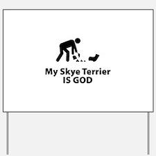 Skye Terrier Yard Sign
