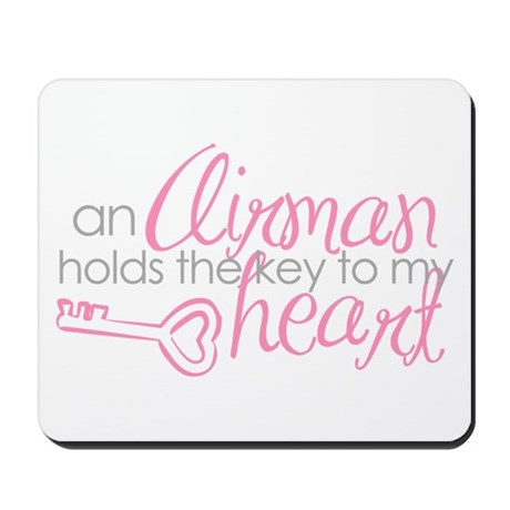 Key to my heart Mousepad