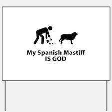 Spanish Mastiff Yard Sign