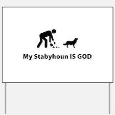 Stabyhoun Yard Sign