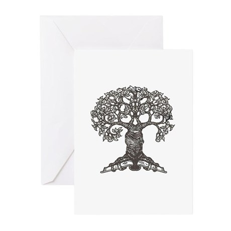 The Reading Tree Greeting Cards (Pk of 20)