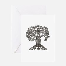 The Reading Tree Greeting Card