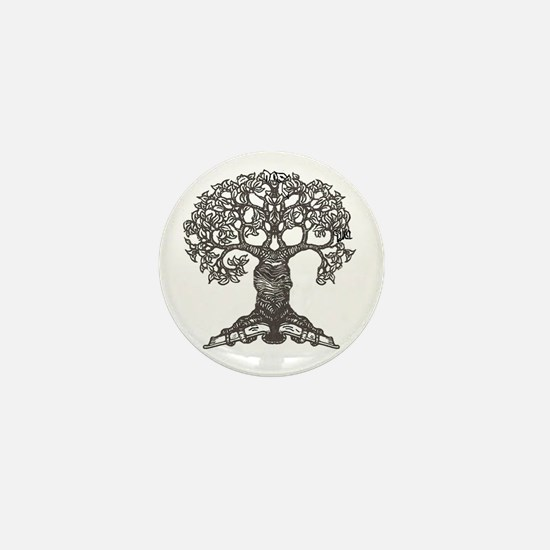 The Reading Tree Mini Button