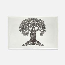 The Reading Tree Rectangle Magnet
