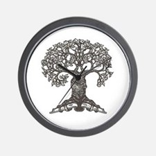 The Reading Tree Wall Clock