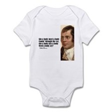 "Burns ""The Rye"" Infant Bodysuit"