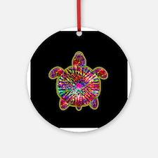Jewelled Sea Turtle Ornament (Round)