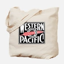 Feather River Route train logo Tote Bag