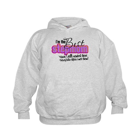 Best Stepmother Kids Hoodie