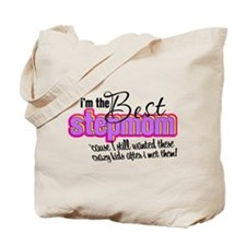 Best Stepmother Tote Bag
