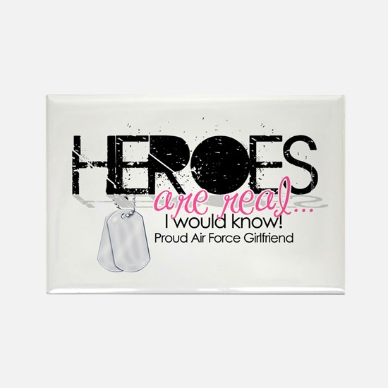 Heroes Rectangle Magnet
