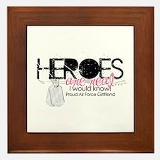 Heroes Framed Tile