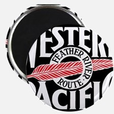 Feather River Route train logo Magnets