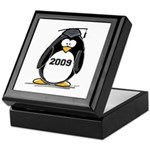 2009 Graduation Penguin Keepsake Box