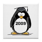 2009 Graduation Penguin Tile Coaster