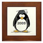 2009 Graduation Penguin Framed Tile