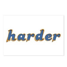 harder Postcards (Package of 8)