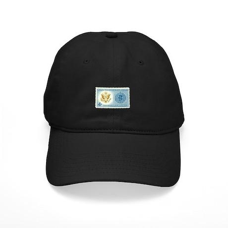 Malaria Stamp Black Cap