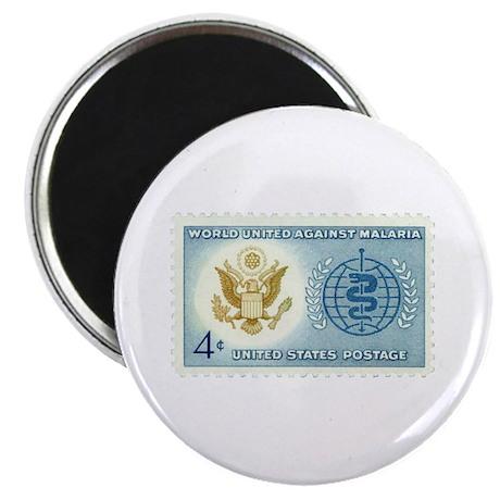 Malaria Stamp Magnet