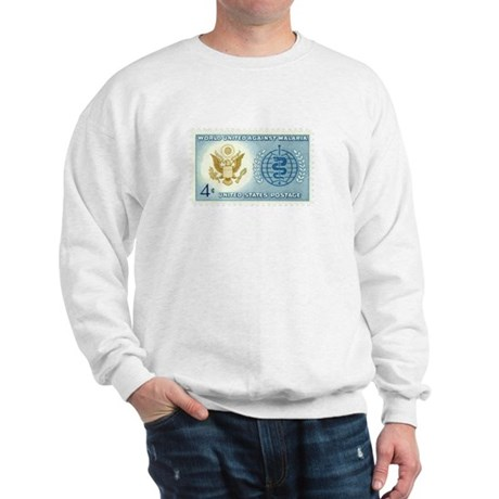 Malaria Stamp Sweatshirt
