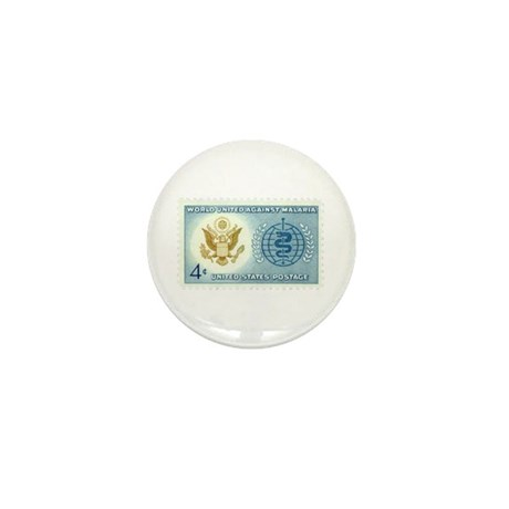 Malaria Stamp Mini Button (10 pack)