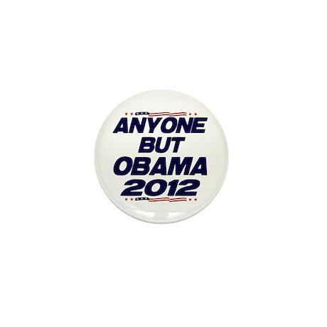 Anyone But Obama Mini Button