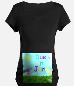 Due In June T-Shirt (Spring Feel)