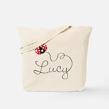Ladybug Lucy Tote Bag