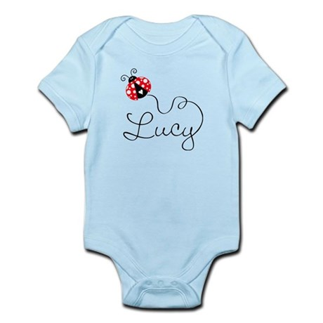 Ladybug Lucy Infant Bodysuit