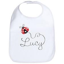 Ladybug Lucy Bib