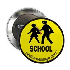 "School 2.25"" Button"